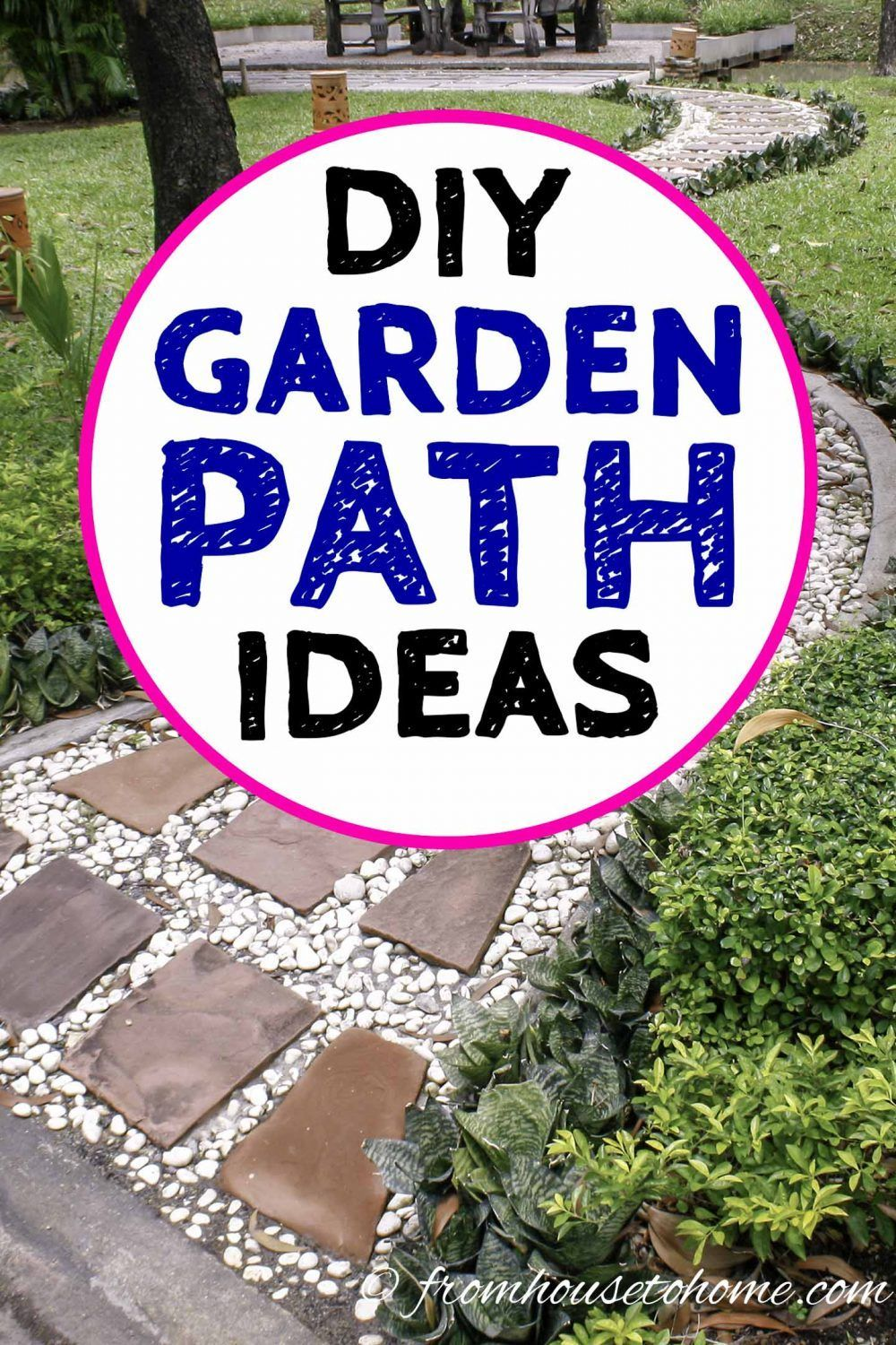 GARDEN PATH IDEAS 10 WAYS TO CREATE A BEAUTIFUL WALKWAY
