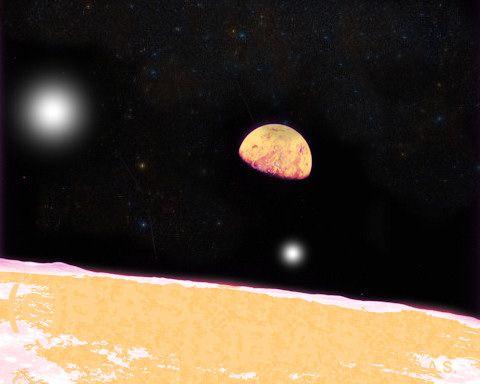 Neu entdeckter Planet 2012