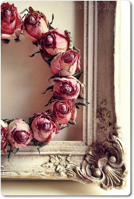 Pin By Susan Thomas On Wreath Pinterest Decoracion Vintage - Decoracion-romantica-vintage