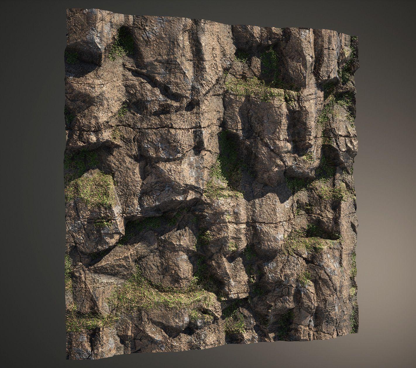 artstation substance designer forest cliff sung jun kang textures and refs pinterest. Black Bedroom Furniture Sets. Home Design Ideas
