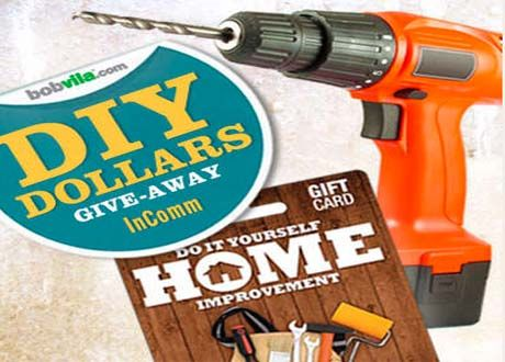 Win $1,000 in DIY Home Improvement Gift Card from InComm! | Win It ...