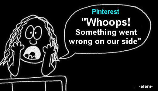 pinterest something went wrong