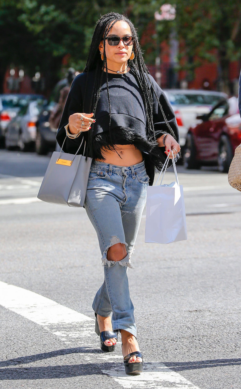 Zoë Kravitz Looks Nearly Identical to Her Mom, Lisa Bonet