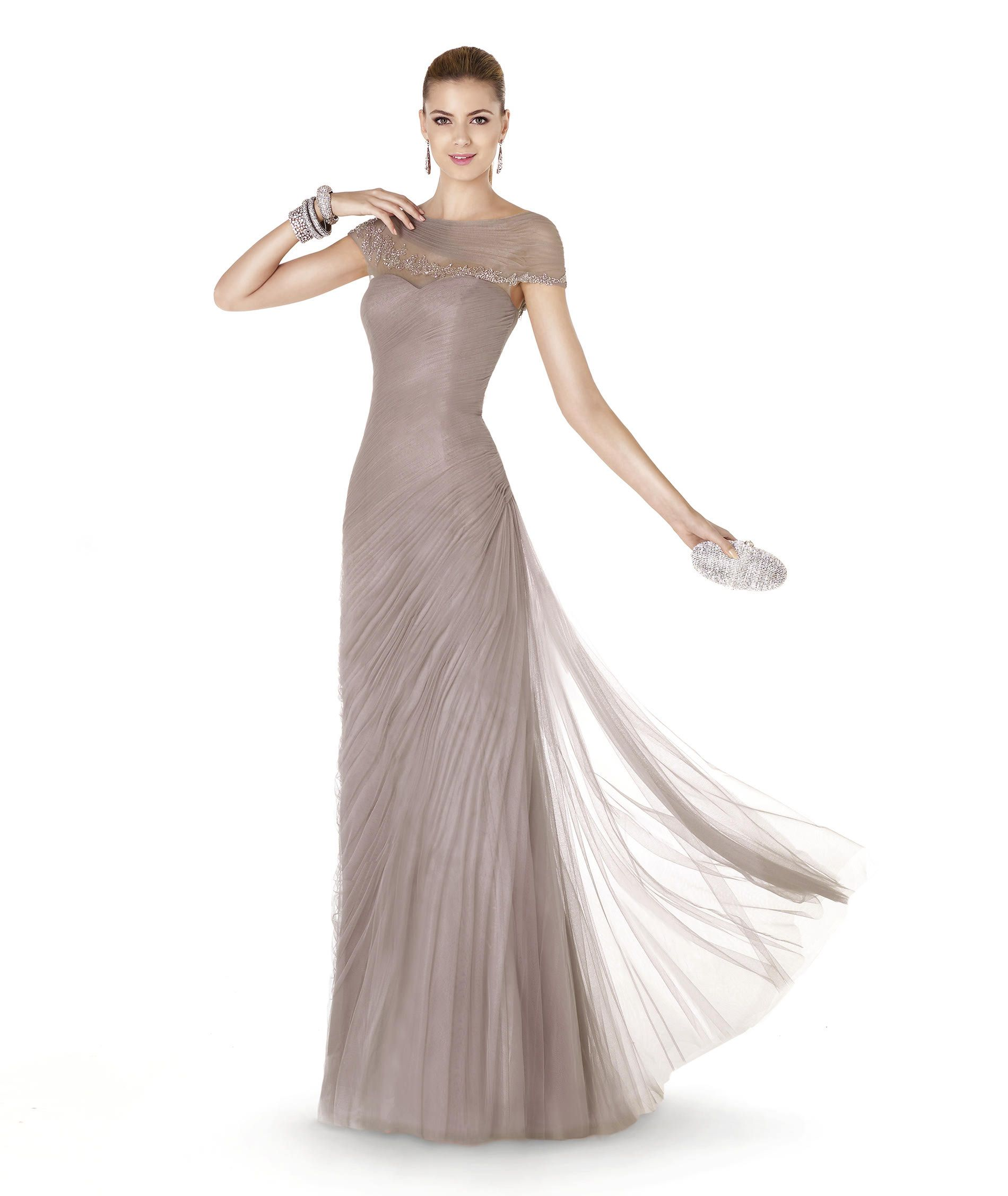 5acdc85f5a Pronovias presents the ALABASTRO cocktail dress from the Cocktail 2015  collection