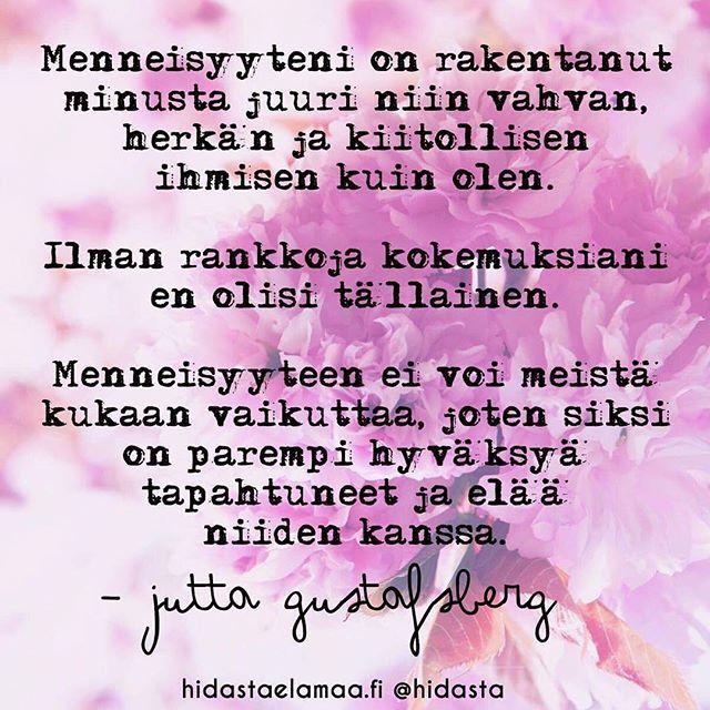 Ilolla kerromme, että pian saatte lukea hidastaelamaa.fi-ssä Jutta Gustafsbergin ja Juha Rouvisen yhteisblogista Löydä oma luontosi heidän ajatuksiaan henkisestä hyvinvoinnista, luonnon vaikutuksesta hyvinvointiin sekä elämän tärkeistä kysymyksistä. Nosta käsi ylös ♂️ jos haluat lukea Jutan ja Juhan ajatuksista! Sivuston puolella lyhyesti kaksikon mietteitä Tärkeistä asioista! Käykäähän lukemassa ❤️ #henkinenhyvinvointi #luonto #tärkeitäkysymyksiä #juttagustafsberg #juharouvinen #blo...