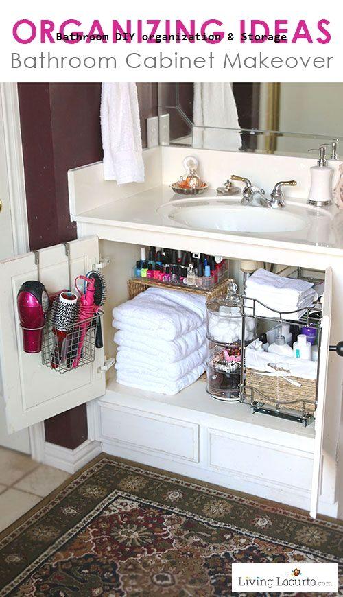 Photo of Exeptional Bathroom Storage  organization Concepts