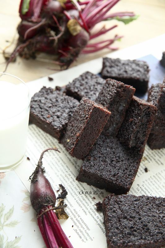 brownies with beets...