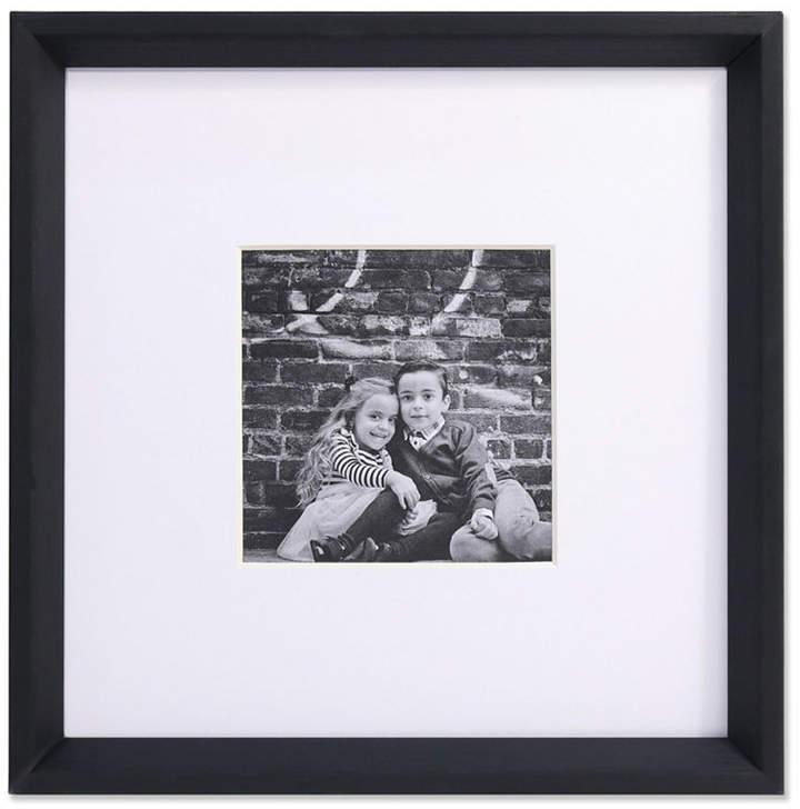 Lawrence Frames Wide Border Matted Frame Gallery Black 10x10 5 X 5 Frame Picture Frames Hanging Picture Frames