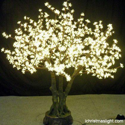 Led Cherry Trees Weeping Cherry Tree Cherry Blossom Light Tree Blossom Trees