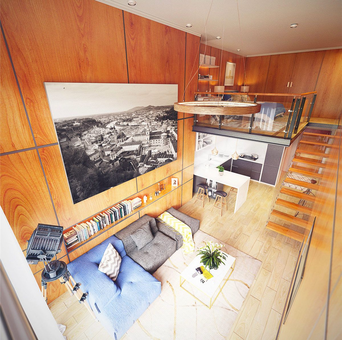 Small Homes That Use Lofts To Gain More Floor Space Loft