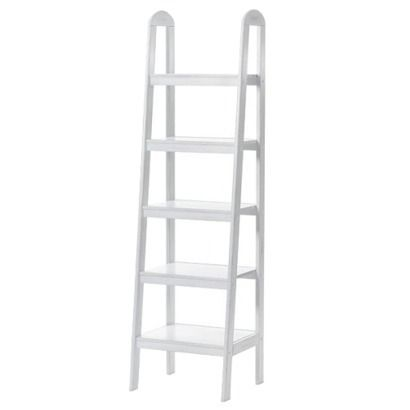 Madison Loop Ladder Bookshelf Antique White Need These Badly In Our Office