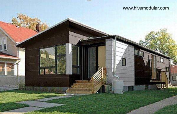 Casa pequea prefabricada y modular en Estados Unidos arquitectura