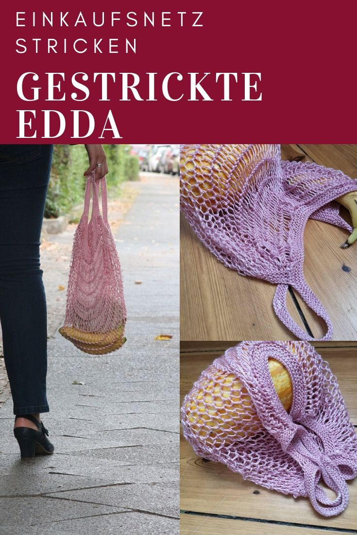 Photo of Trend-Lemming: Edda, ein gestricktes Einkaufsnetz