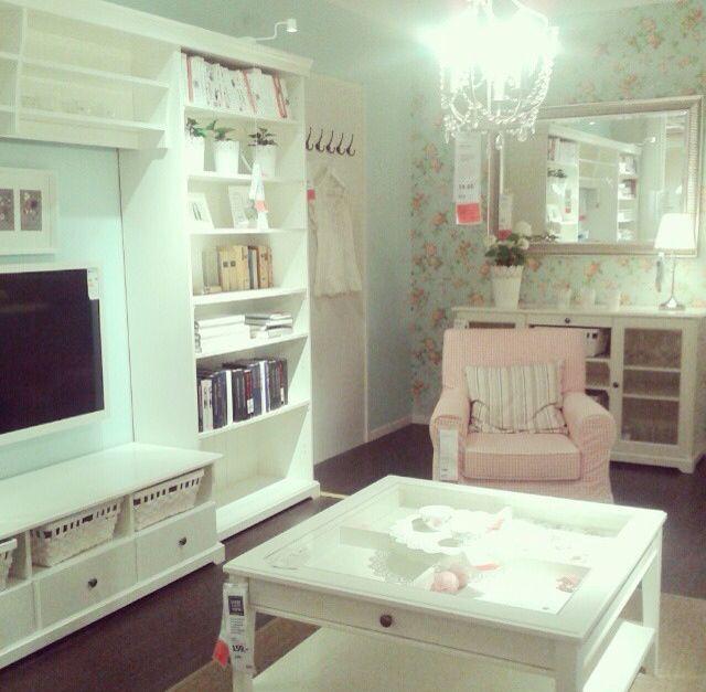 Hemnes Ektorp Livingroom Ikea