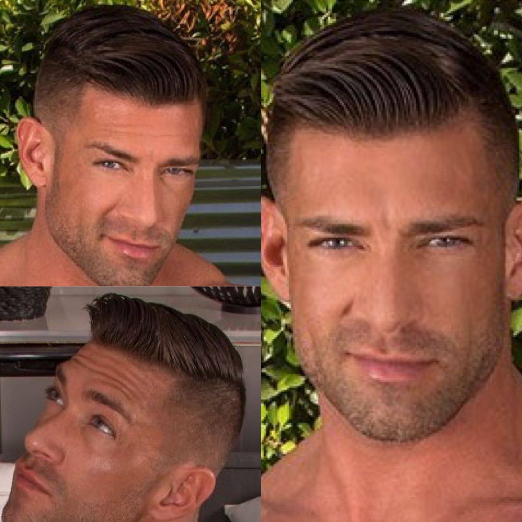 Haircut for men all angles hairstyle angles  hairstyles  pinterest