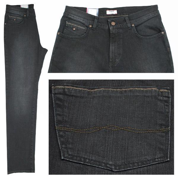 Pioneer Stretch Herren Jeans / Form: Rando / Farbe: schwarz angewaschen Jeans - FarbNr.: 134 / im Pioneer Jeans Online Shop