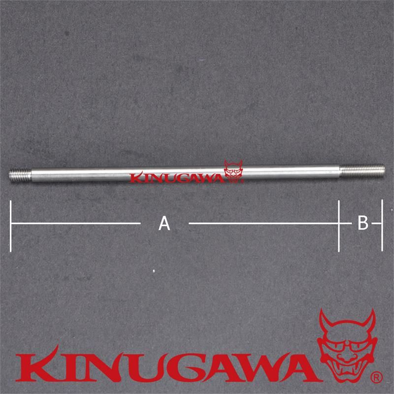 Kinugawa Adjustable Turbo Wastegate Actuator Rod 130mm Straight