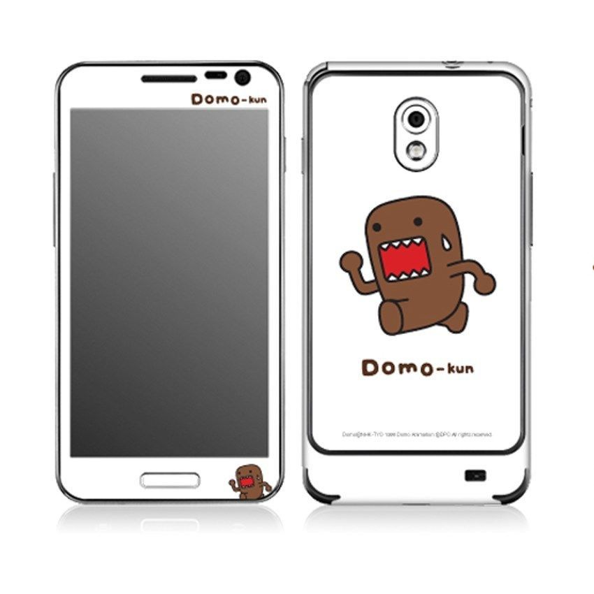Popskin Cell Phone Body Wrap Decals Domo Kun 02 Anime Character