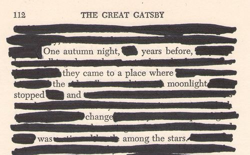 the great gatsby:   one autumn night, years before, they came to a place where the moonlight stopped and change was among the stars.