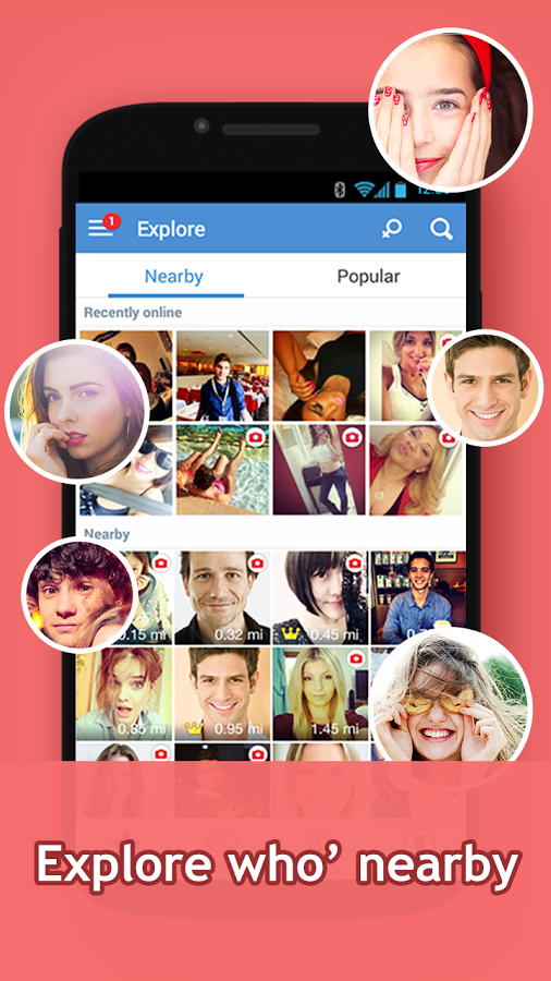 InstaMessageChat,meet,hangout FULL APK Free Download