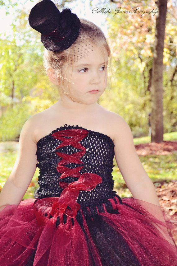 Halloween Vampire Tutu Costume by CalliopeJaneBoutique on Etsy, $38.00