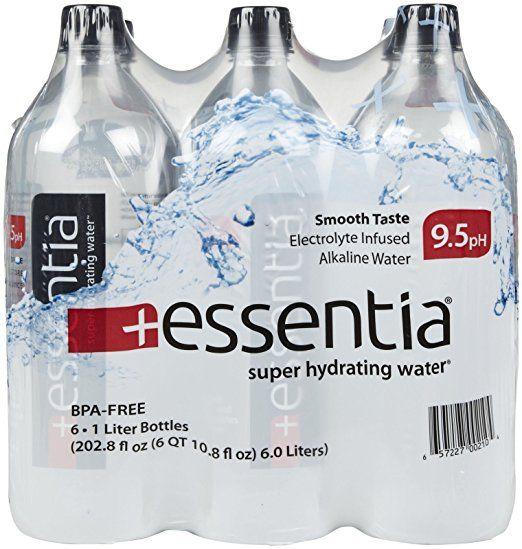 Essentia Water Super Hydrating Water 1 Lt 6 Pk Water Packaging Bpa Free Bottles Alkaline Water