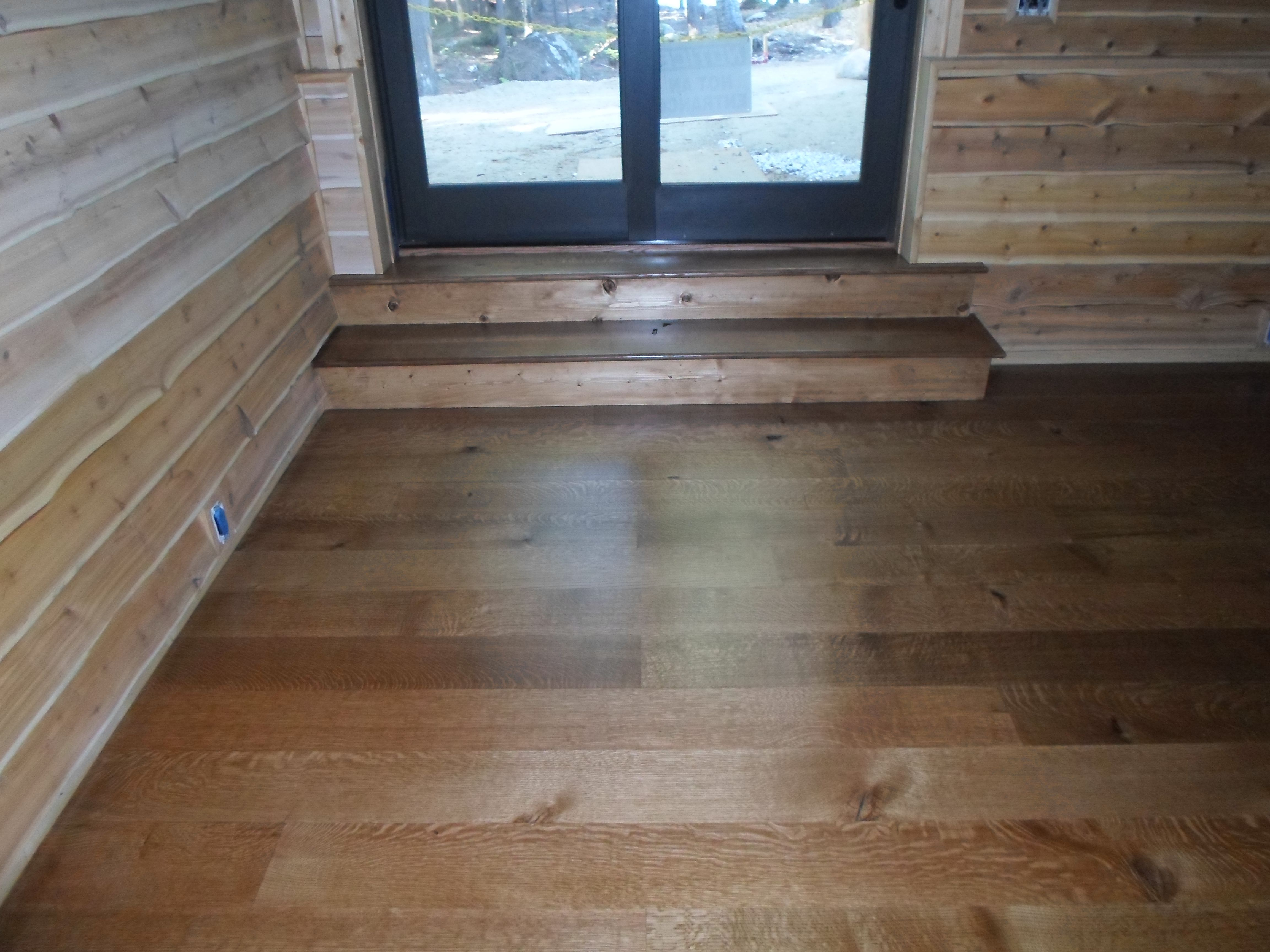 Awesome White Oak Floors With An Early American Stain In