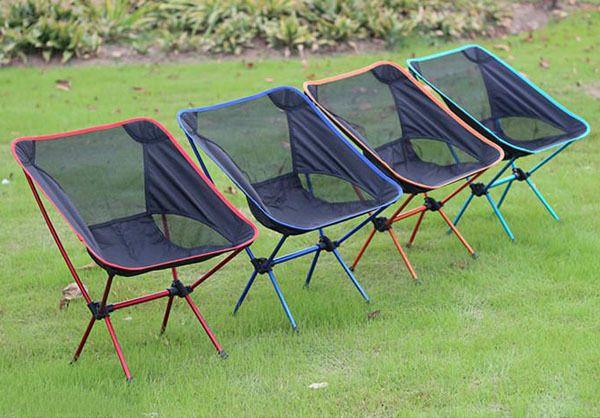 Lightweight Folding Camping Chair Fishing Hiking Beach Portable Seat ...