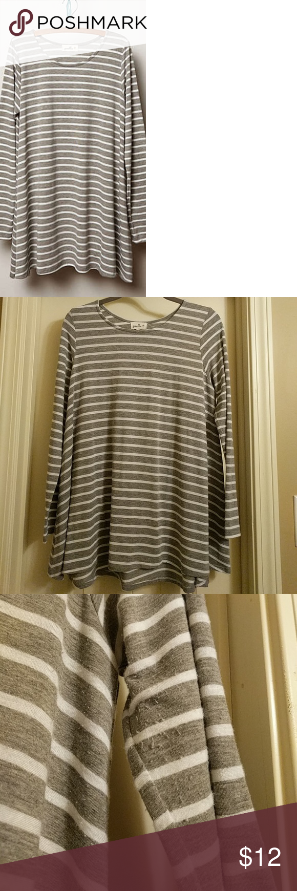 4e7f8015b3d Anthropologie Puella Top Anthropologie Puella Darcy Swing Tunic. Size  small, but fit me as