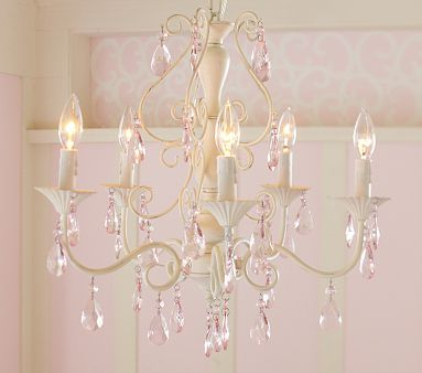Pink Alyssa Chandelier | Chandeliers, Room and Pottery