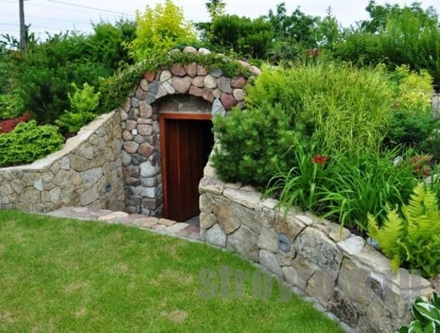 25 root cellars adding unique structures to backyard designs erdkeller g rten und gartenh user. Black Bedroom Furniture Sets. Home Design Ideas