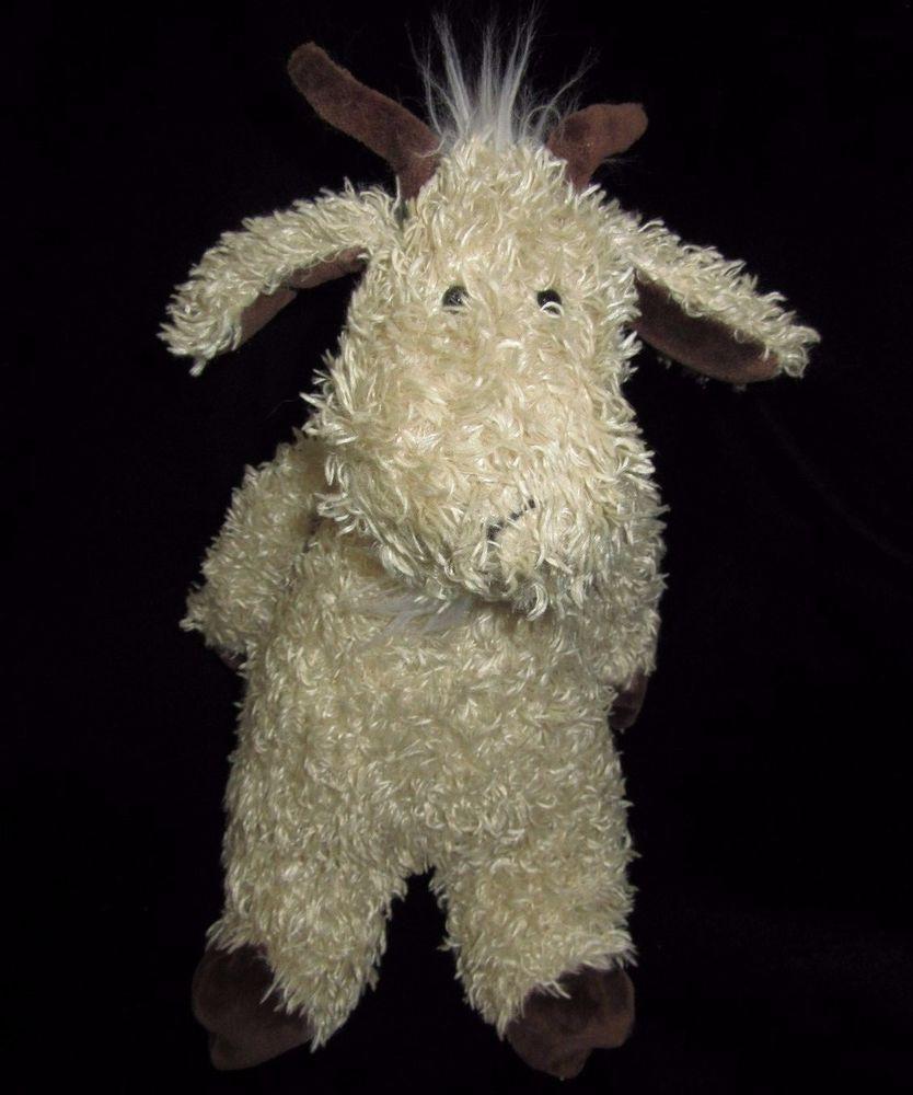 Jellycat Billy Goat Bunglie Plush Soft Toy Stuffed Beige 11 Animal Brown Jellycat Jellycat Soft Toy Plush