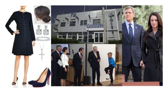 """""""Day 3 of Royal Tour of Iceland, Visiting Ossur"""" by amelia-of-scotland ❤ liked on Polyvore featuring Lafayette 148 New York, Blue Nile, Tiffany & Co. and Christian Louboutin"""