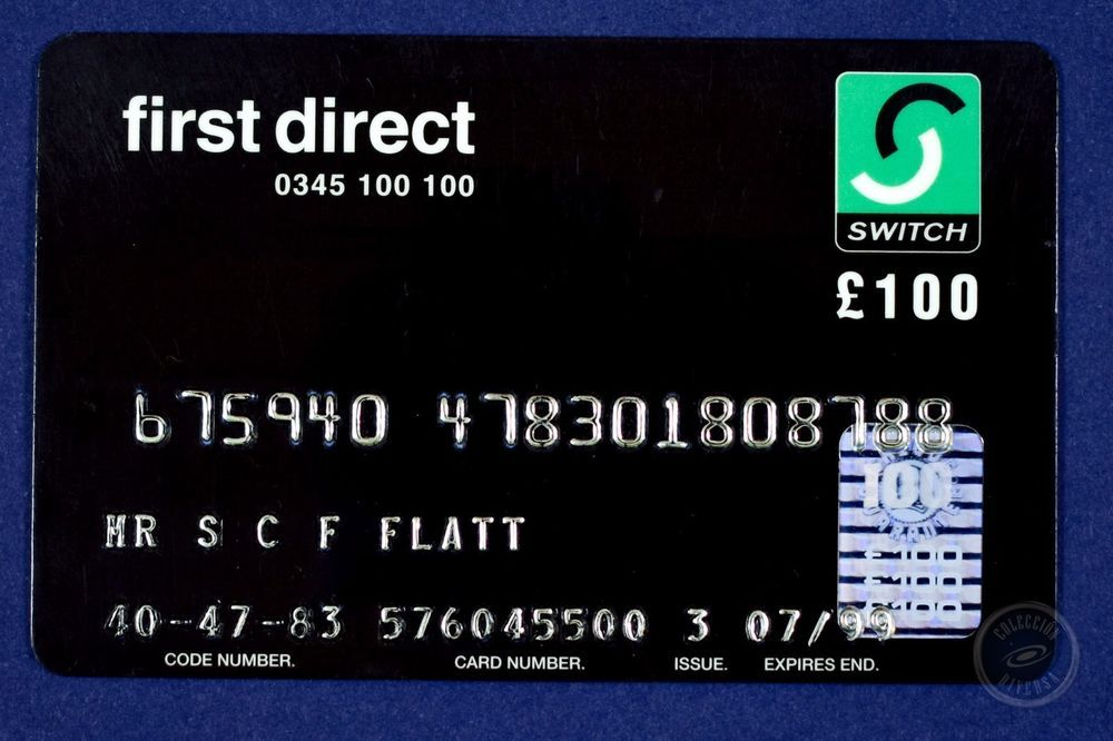 Credit Card Expired First Direct Hsbc United Kingdom 90 S Cards Credit Card Number Cards