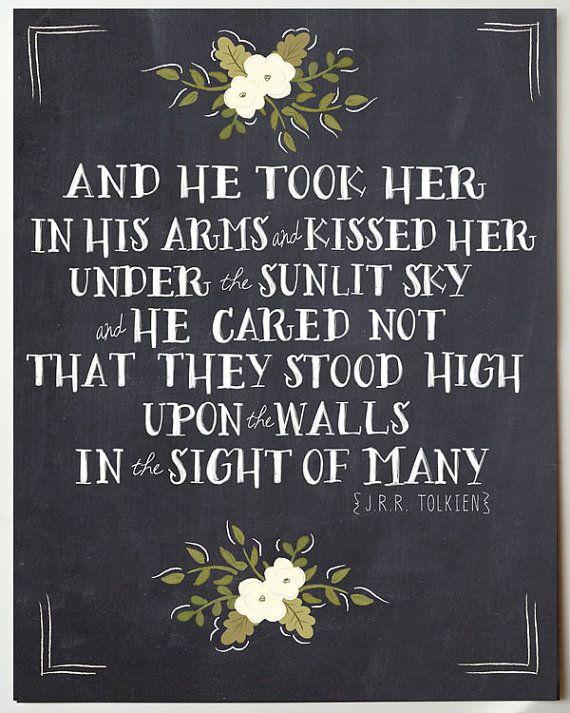 Tolkien Eheversprechen