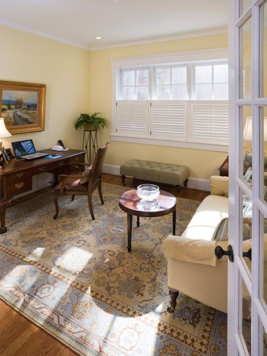If Only I Had An Office Of My Own Traditional Home Offices Home Traditional Home Office
