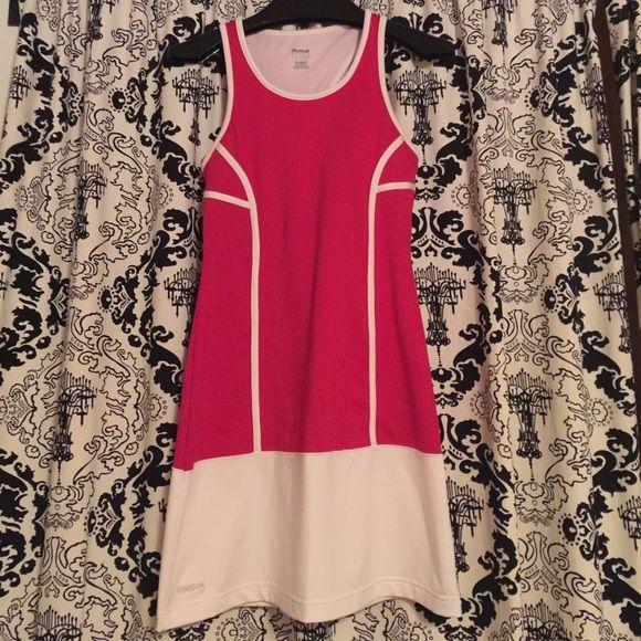 Red and White Reebok Tennis Dress Super Cute tennis dress! Reebok Other