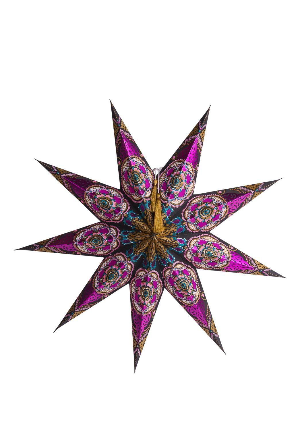 STAR ADVENT S advent stjerne multi   Garland/window decor ...