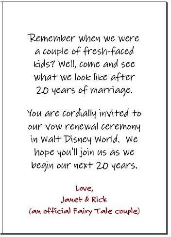 Vow Renewal Invitation (Sentiment) Vow renewal vows, Vow renewal - fresh anniversary invitation font