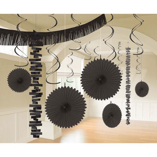 Check Out Black Decoration Kit