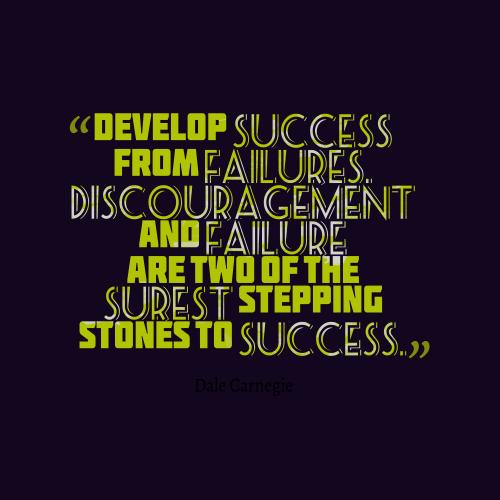 Essay failure stepping stone success