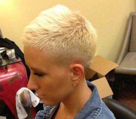 Zinguala Really Short Hair Super Short Hair Short Pixie Haircuts
