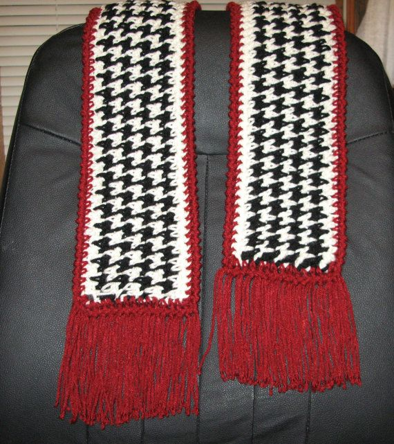So got this pattern from amazing fiber artist rita gibson doesn houndstooth scarf pdf pattern to crochet by ritagibson on etsy dt1010fo