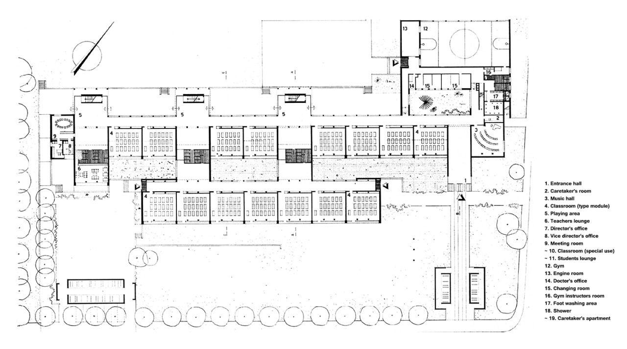 Scuola Elementare 39Ai Saleggi39 school Locarno Ticino