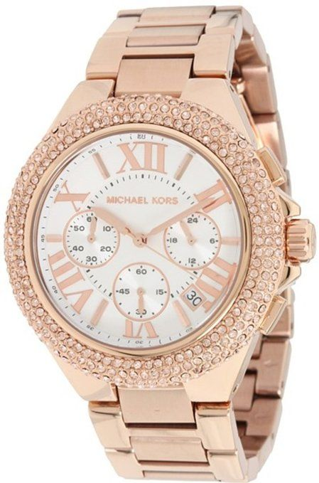 979134c4d707 Michael Kors Women s MK5636 Camille Rose Gold Watch  Watches  Amazon ...