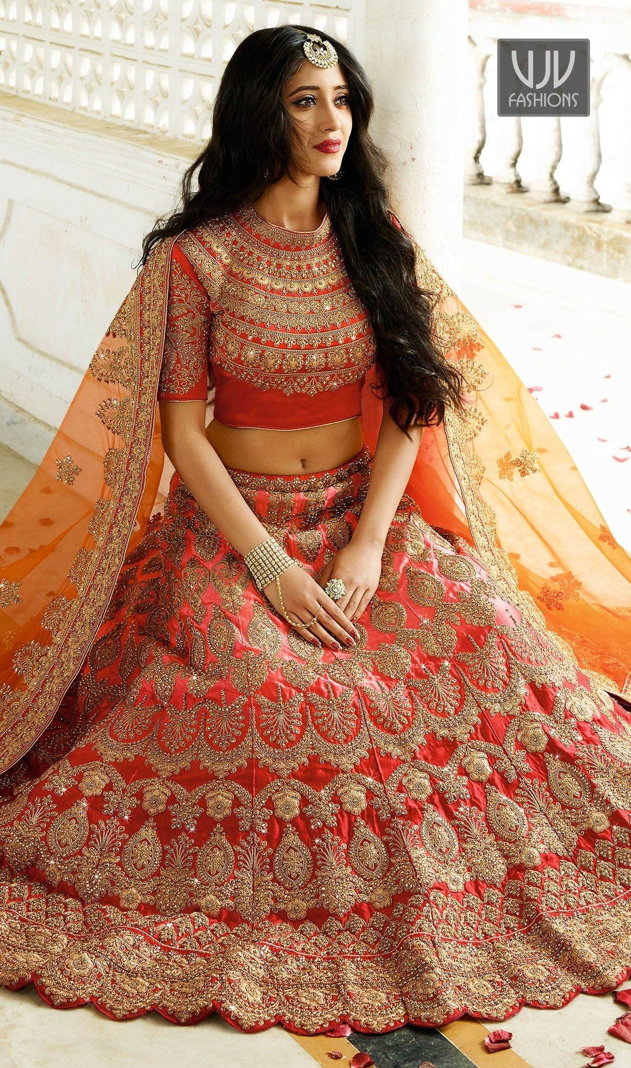 cc248193607e02 Shivangi Joshi Lehenga Choli Wedding, Lehanga Bridal, Indian Bridal Lehenga,  Bridal Lehngas,