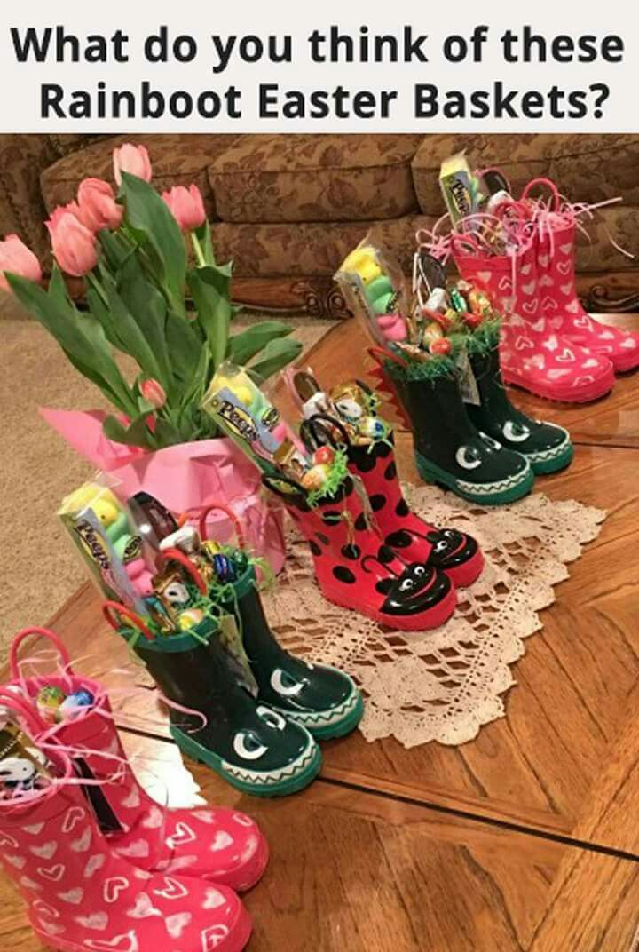 Cute idea for easter baskets holiday and seasonal ideas cute idea for easter baskets negle Gallery