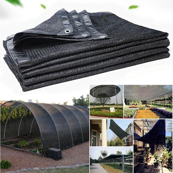Anti Uv Sun Net Outdoor Garden Sunscreen Sunblock Shade Cloth Net Plant Greenhouse Cover Car Cover Wish Shade Cloth Outdoor Bed Outdoor Ottoman