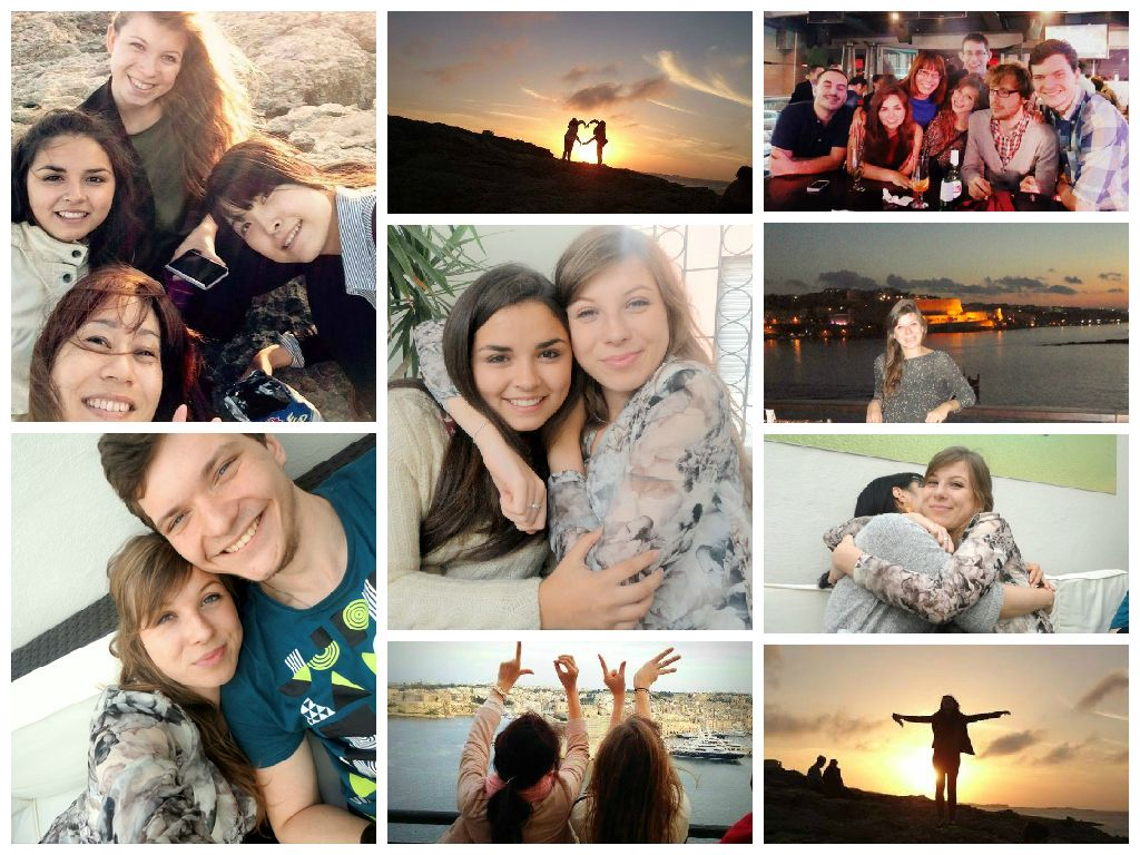 Massive thanks to Florence for these adorable #pictures ! We #love our #students ! #TheNSTSMaltaExperience