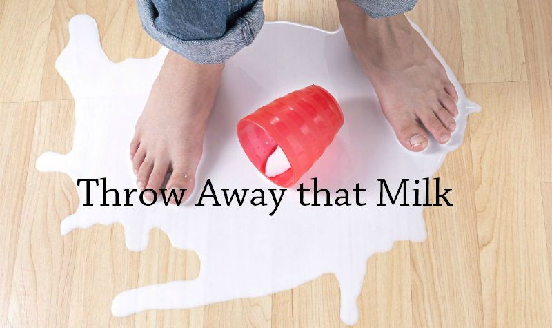 Throw Milk Away SN